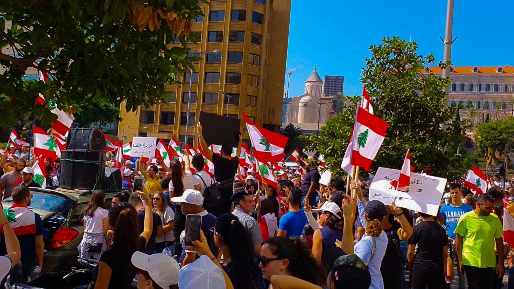 Beirut protests 2019